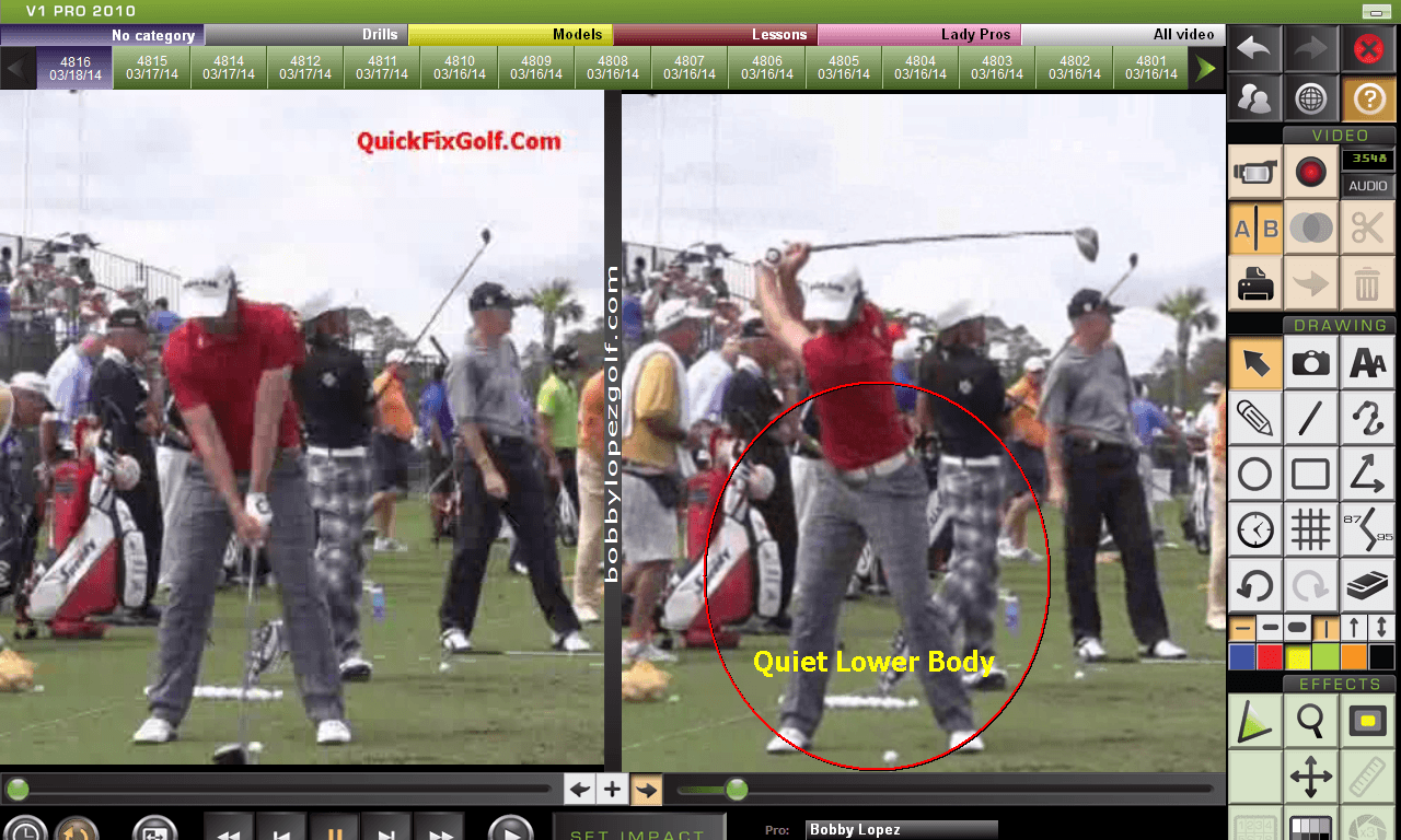 roy mcilroy quiet lower body